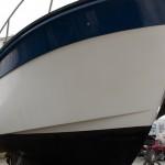 Styrbord sida vaxad och klar - 2012
